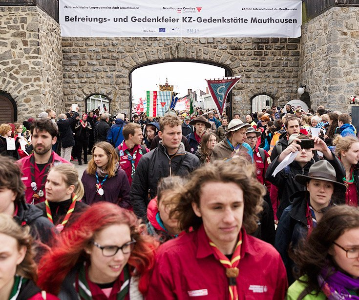 Internationale Befreiungsfeier am 10. Mai 2020