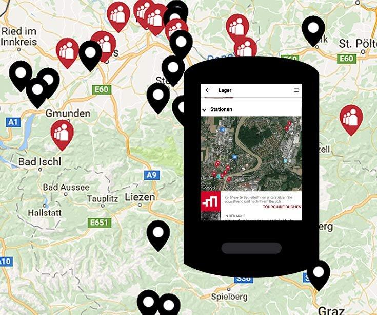 Mauthausen Aussenlager App