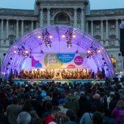 Bühne Fest der Freude 2019 © MKÖ/Sebastian Philipp