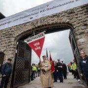 Auszug aus der KZ-Gedenkstätte Mauthausen bei der Befreiungsfeier Mauthausen 2019. © MKÖ/Jacqueline Godany