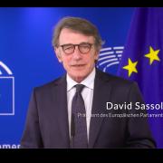 David Sassoli, Präsident des Europäischen Parlaments