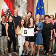 PreisträgerInnen Anerkennungspreis: Hans Maršálek Preis 2018 © Parlamentsdirektion / Johannes Zinner