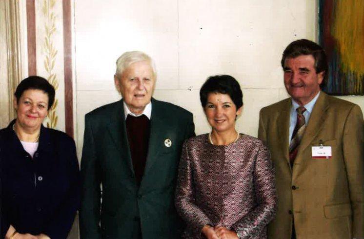 Hans Maršálek Besuch Nationalratspräsidentin Prammer