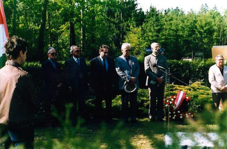 Hans Maršálek Gedenkfeier Gunskirchen