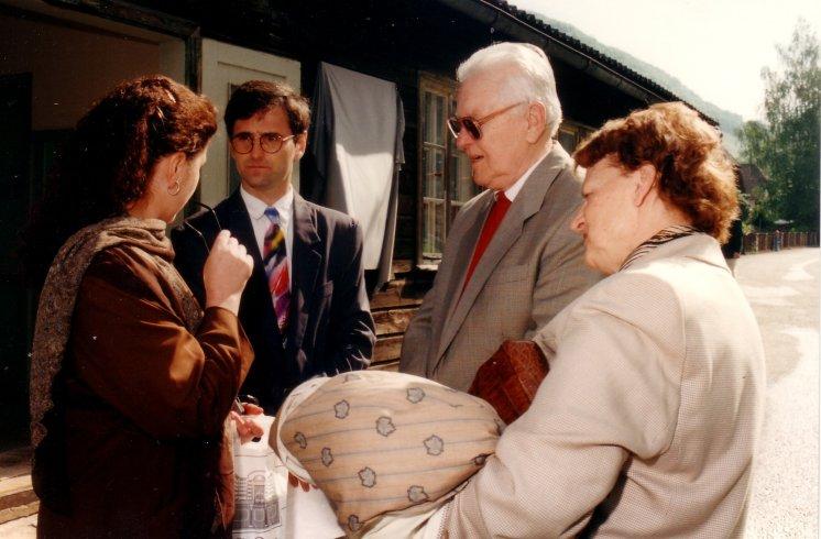 Hans Maršálek Gedenkfeier Ternberg 1995