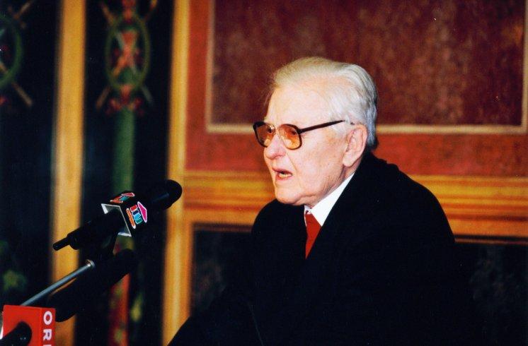 Hans Maršálek Übergabe Vermächtnis Mauthausen Komitee Österreich (1)