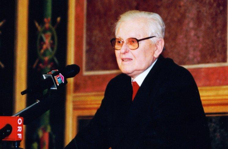 Hans Maršálek Übergabe Vermächtnis Mauthausen Komitee Österreich (2)