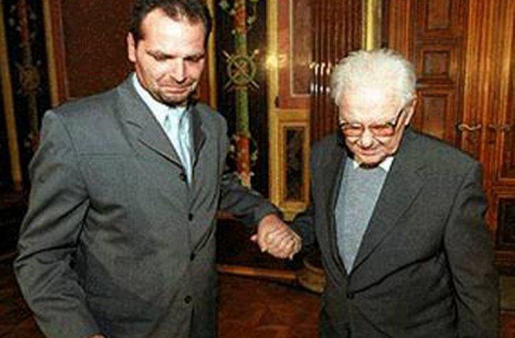 Hans Maršálek Übergabe Vermächtnis Mauthausen Komitee Österreich (3)