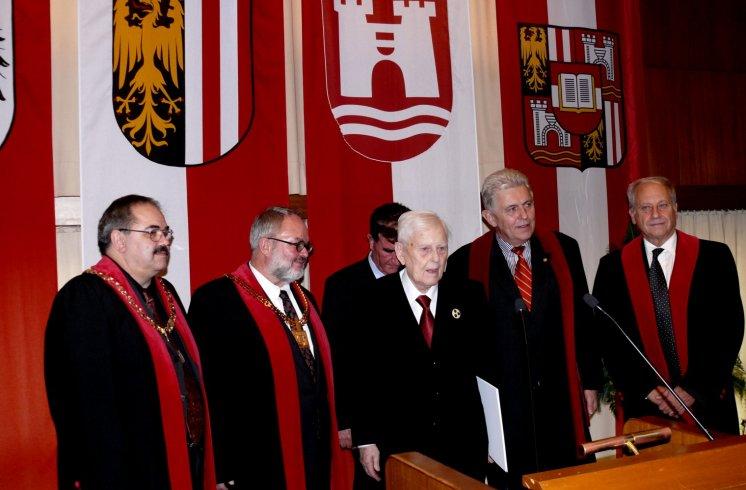 Hans Maršálek Verleihung Ehrendoktorat 2009