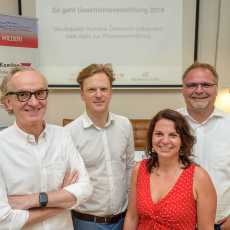 Teaser Grundmann, Jungwirth, Bauer, Mernyi © MKÖ/APA - Jacqueline Godany