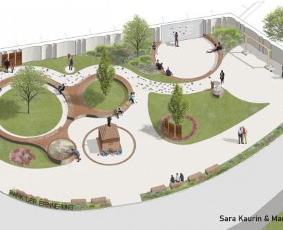 Plan Gedenkstätte Wr. Neudorf © Kaurin,Pawelka